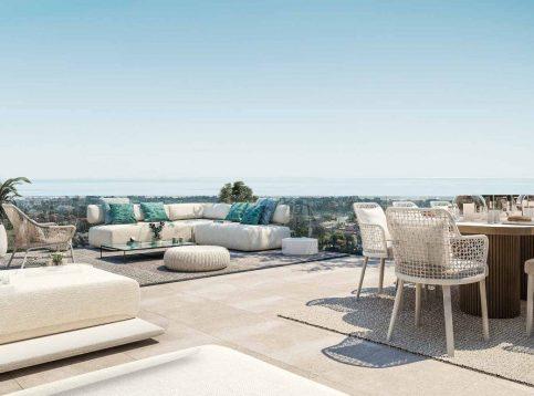 zeezicht - Villa La Finca de Jasmine - sea view